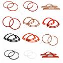 Pair Of Plastic Bag Handles Bag Making Craft Accessories Varies Sizes & Colours