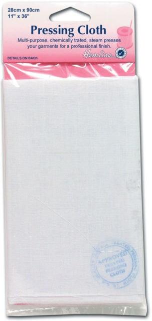 Hemline Pressing Cloth: 27 x 90cm