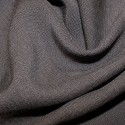 100% Viscose Linen Look Fabric Lightweight Breathable Soft Material Grey