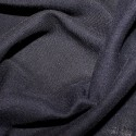100% Viscose Linen Look Fabric Lightweight Breathable Soft Material Navy
