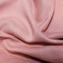 100% Viscose Linen Look Fabric Lightweight Breathable Soft Material Rose