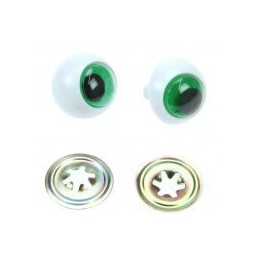 2 x Safety Frog Toy Eyes 16mm or 24mm
