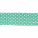 Light Green 20mm Polka Dots Cotton Bias Binding