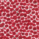 Field White 100% Cotton Fabric Nutex Poppies Poppy Floral Flowers Collection
