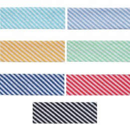 20mm Stripes Cotton Bias Binding Tape
