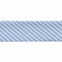 Light Blue 20mm Stripes Cotton Bias Binding Tape
