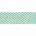 Light Green 20mm Stripes Cotton Bias Binding Tape