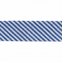 Navy 20mm Stripes Cotton Bias Binding Tape