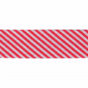 Red 20mm Stripes Cotton Bias Binding Tape