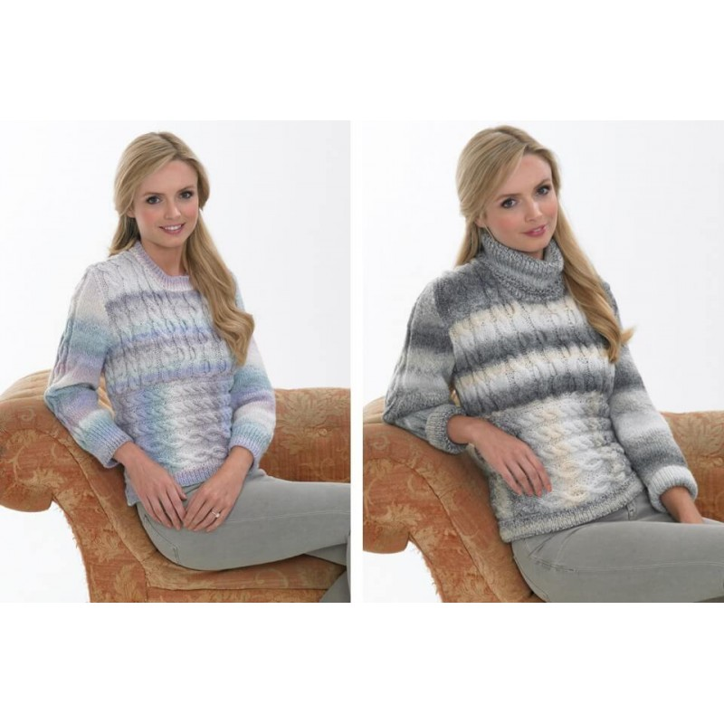 Knitting Pattern James C Brett JB392 DK Jumper