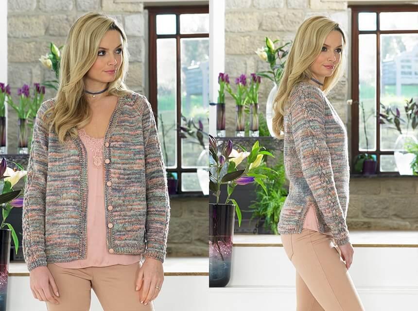 Knitting Pattern James C Brett JB415 DK Cardigan