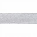Silver 15mm Metallic Bias Binding 2m or 20m