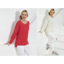 Knitting Pattern James C Brett JB434 DK Jumper