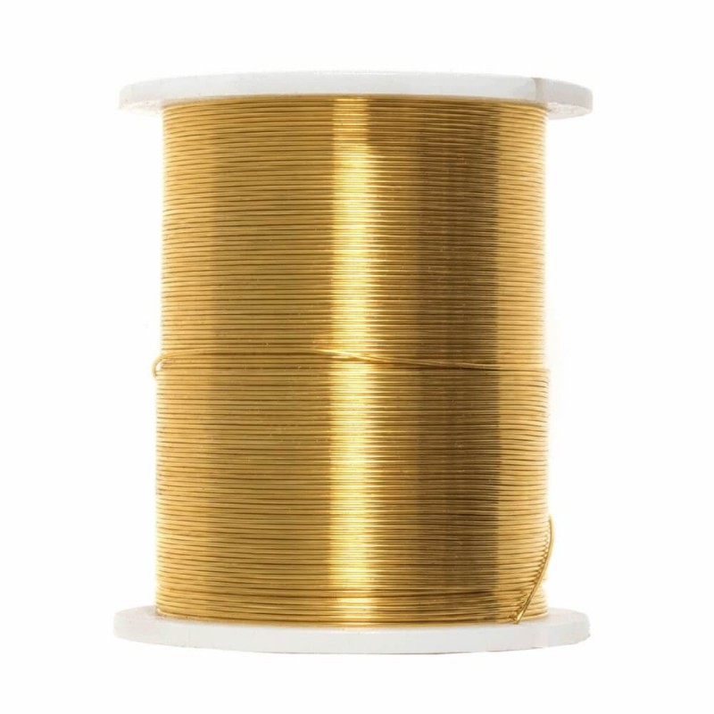 Gold Trimits Beading Wire 28 Gauge Gold & Copper Jewellery Making Craft