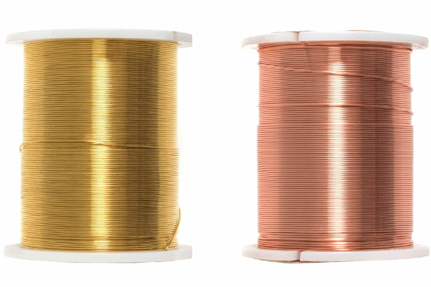 Copper Trimits Beading Wire 28 Gauge Gold & Copper Jewellery Making Craft