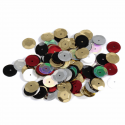 Multi Tiny 10mm Shiny Craft Cup Sequins Trimits