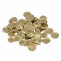 Gold Tiny 10mm Shiny Craft Cup Sequins Trimits