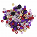 Multi Extra Value Tiny 5mm Shiny Craft Cup Sequins Trimits
