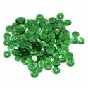 Green Extra Value Tiny 5mm Shiny Craft Cup Sequins Trimits