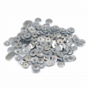 Silver Extra Value Tiny 8mm Shiny Craft Cup Sequins Trimits