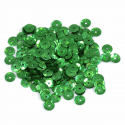 Green Extra Value Tiny 8mm Shiny Craft Cup Sequins Trimits