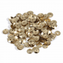 Gold Extra Value Tiny 8mm Shiny Craft Cup Sequins Trimits
