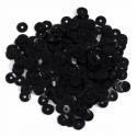 Black Extra Value Tiny 8mm Shiny Craft Cup Sequins Trimits