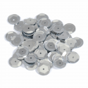 Silver Extra Value Tiny 10mm Shiny Craft Cup Sequins Trimits
