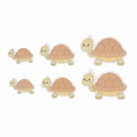 Trimits Craft For Occasions Stick On Animals Embellishments Scrap Booking Tortoise Pack Of 6