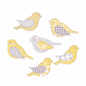 Trimits Craft For Occasions Stick On Animals Embellishments Scrap Booking Assorted Birds Pack Of 6