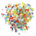 Multi 2mm Rocailles Beads Craft Factory Jewellery 15g