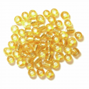 Gold E Beads Glass Beads 4mm 7 Colours