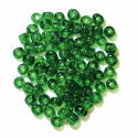Green E Beads Glass Beads 4mm 7 Colours