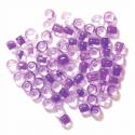 Lilac E Beads Glass Beads 4mm 7 Colours