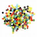 Multi E Beads Glass Beads 4mm 7 Colours