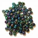 Rainbow E Beads Glass Beads 4mm 7 Colours
