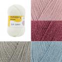 Regia Soft Glitter 4 PLY Knitting Yarn Knit Wool Craft 100g Ball