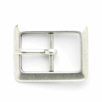 Vogue Star 20mm Rectangle Antique Silver Buckle Clasp Buckle Accessories