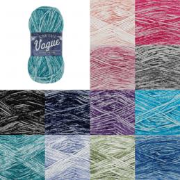 King Cole Vogue DK 100% Cotton Yarns Knitting Yarn Craft Wool Crochet 50g Ball