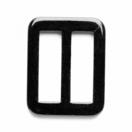 30mm Rectangle Rounded Corners Plain Slide Buckle Vogue Star
