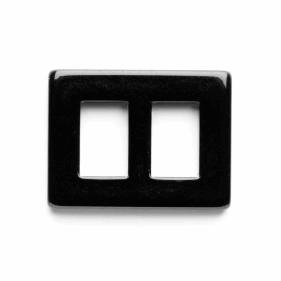 Vogue Star 10mm Mini Rectangular Black Slide Replacement Buckle Accessories