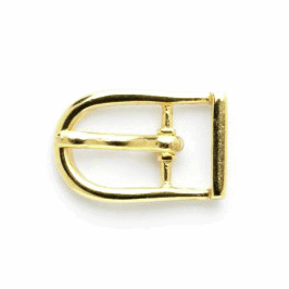 Vogue Star 12mm Pair of Mini Gold Shoe Replacement Buckles Accessories