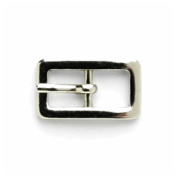 Vogue Star 8mm Pair of Mini Rectangular Silver Replacement Buckles