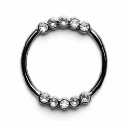 Vogue Star 30mm Diamante Ring Slider Replacement Buckle Accessories