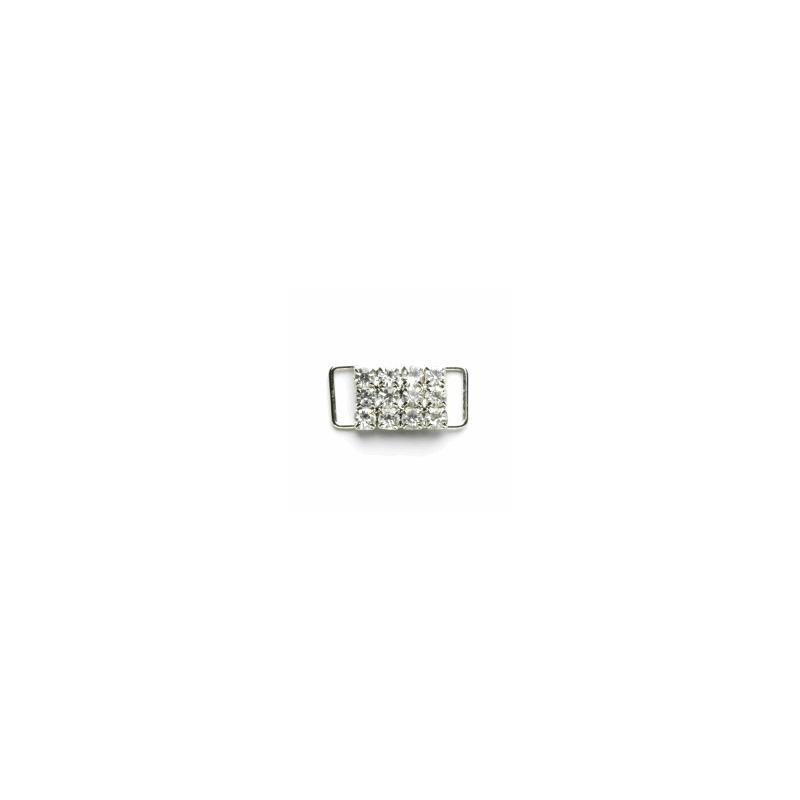 Vogue Star 10mm Diamante Slide Buckle Decoration Replacement Buckle