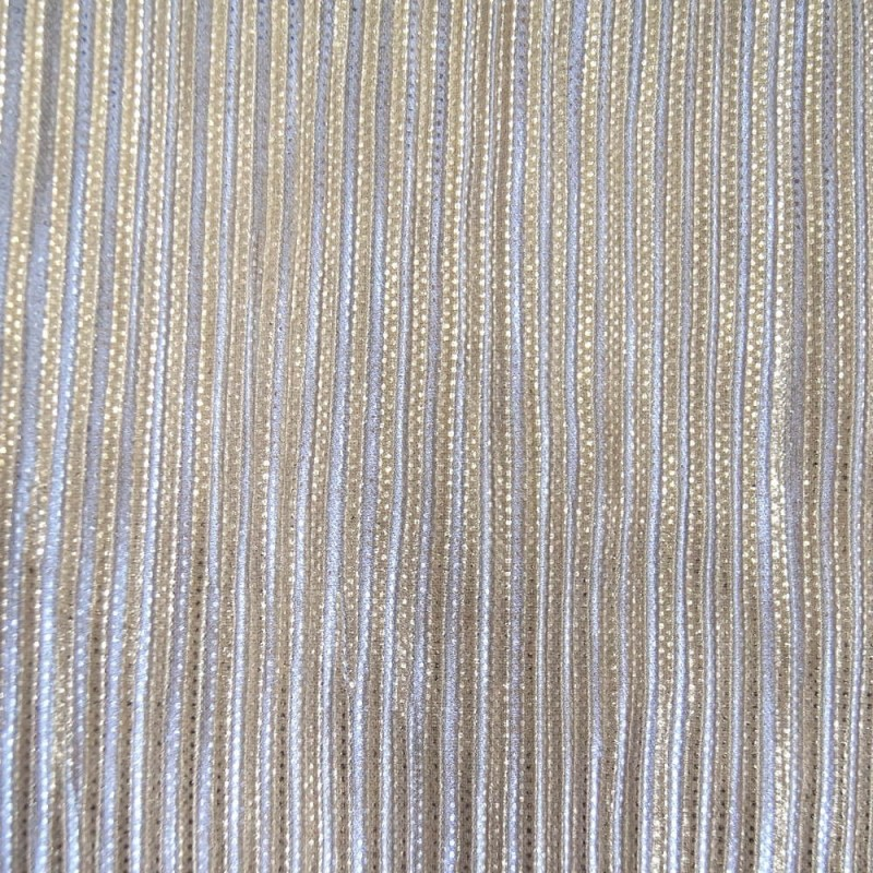 Beige - Silver 100% Polyester Pleated Lurex Jersey Sparkle Festive Crimped Glitter Dancewear