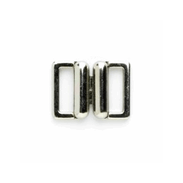 Vogue Star 13mm Pair of Metal Link Clasps Replacement Fasteners