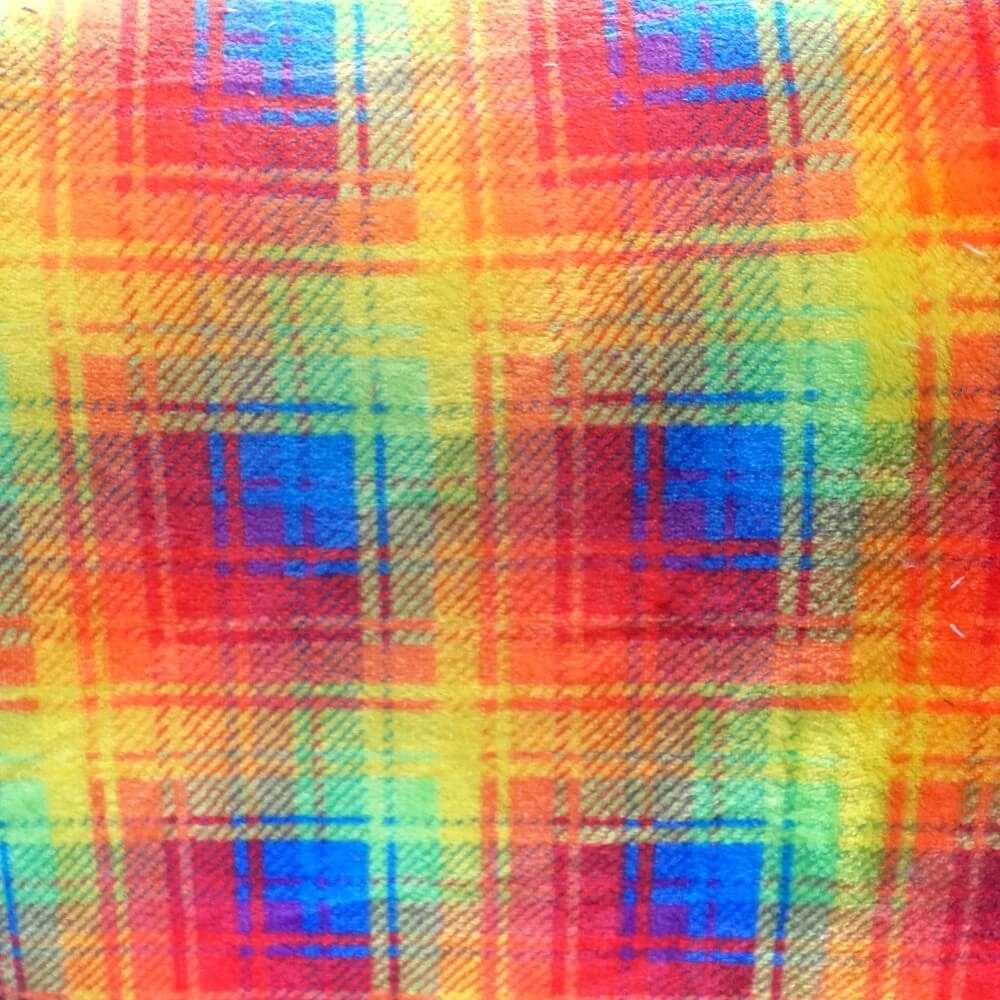 Red Super Soft Cuddle Fleece Tartan Plaid Check Blanket 147cm Wide