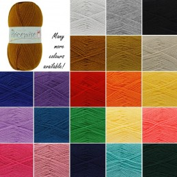 King Cole Prisewise DK Double Knitting Yarn Knit Craft Wool Crochet 100g Ball