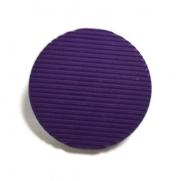 Purple Ribbed Ridged Fastening 25mm Wide